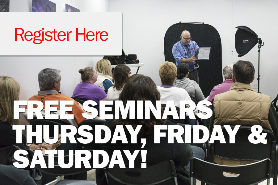 Free Seminars May 10th and 11th