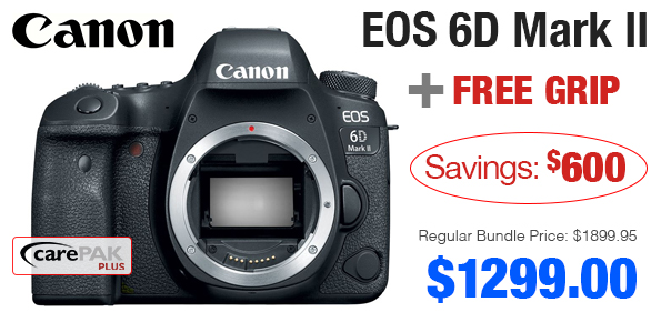 Canon 6D Triple Deal