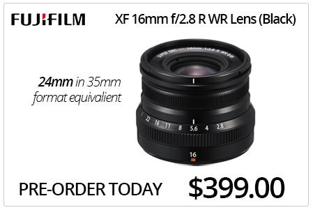 Fujifilm XF 16mm f/2.8