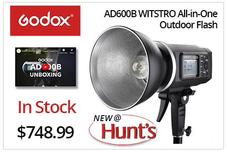 Godox AD600B WISTRO all-in-one Outdoor Flash