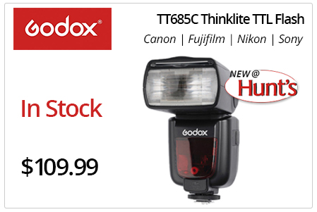 Godox TT685C Thinklite TTL Flash for Canon | Fujifilm | Nikon | Sony.