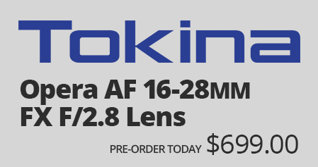 Tokina Announces the 16-28mm Lens