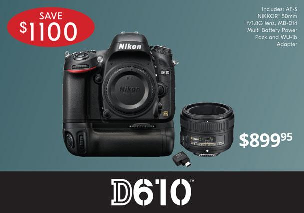 Nikon Specials!
