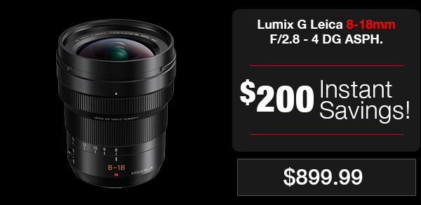 Lumix Leica 8-18mm