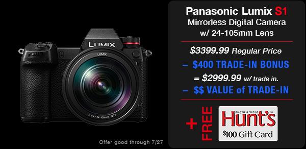 Panasonic Lumix S1 Kit
