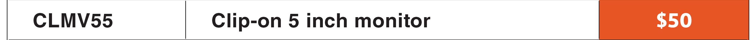 "Sony 5"" Portable Monitor"