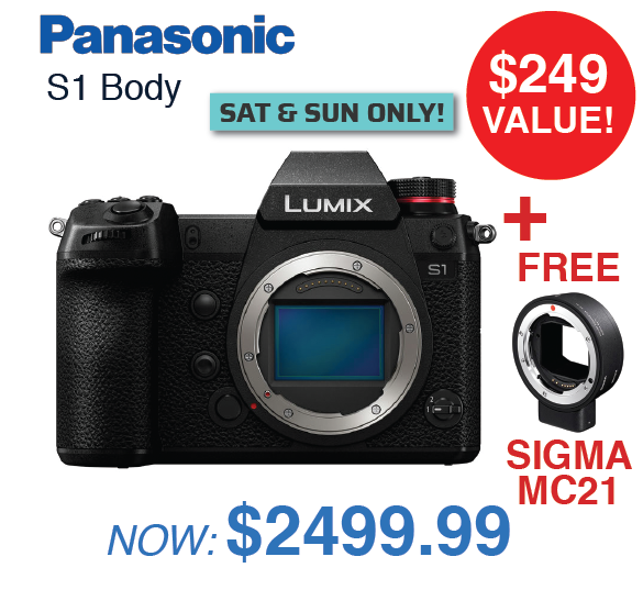 Panasonic S1 Body
