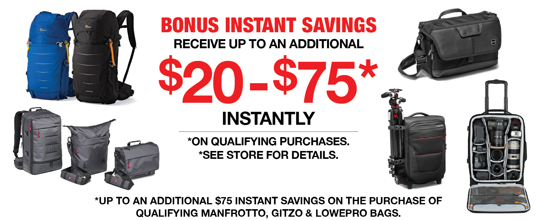 Bonus Instant Savings