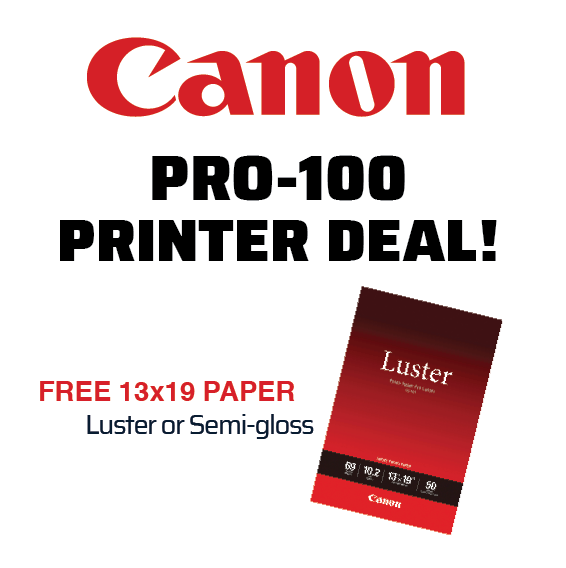 Canon Pro-100 Printer Deal