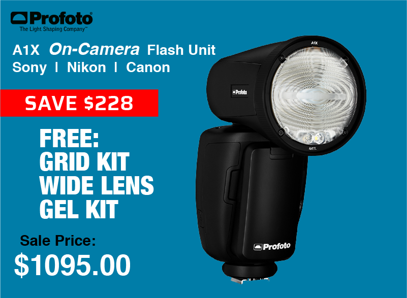 Profoto A1X On-Camera Flash Unit