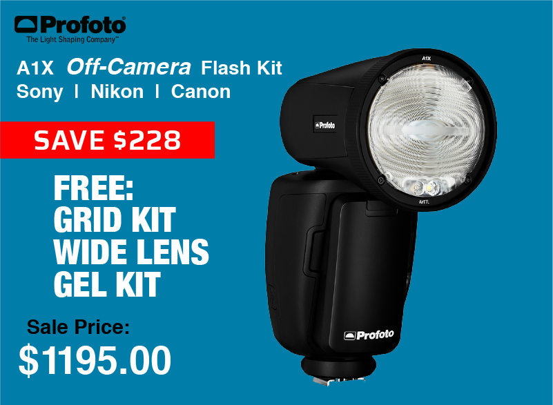Profoto A1X Off-Camera Flash Unit