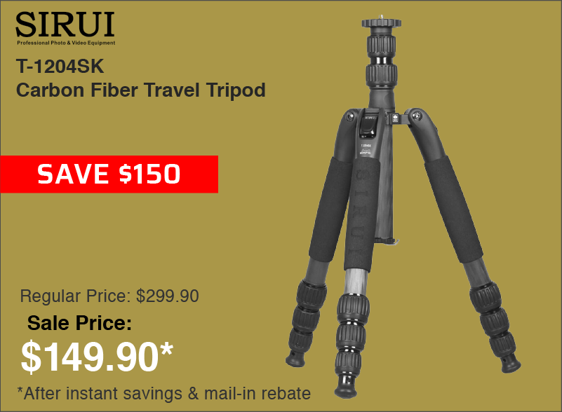 Sirui Carbon Fiber Tripod