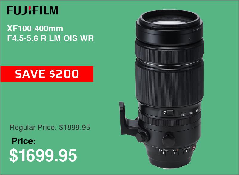 Fujifilm XF 100-400mm