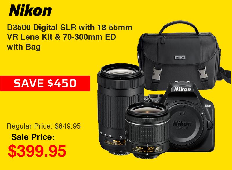 Nikon D3500 Bundle