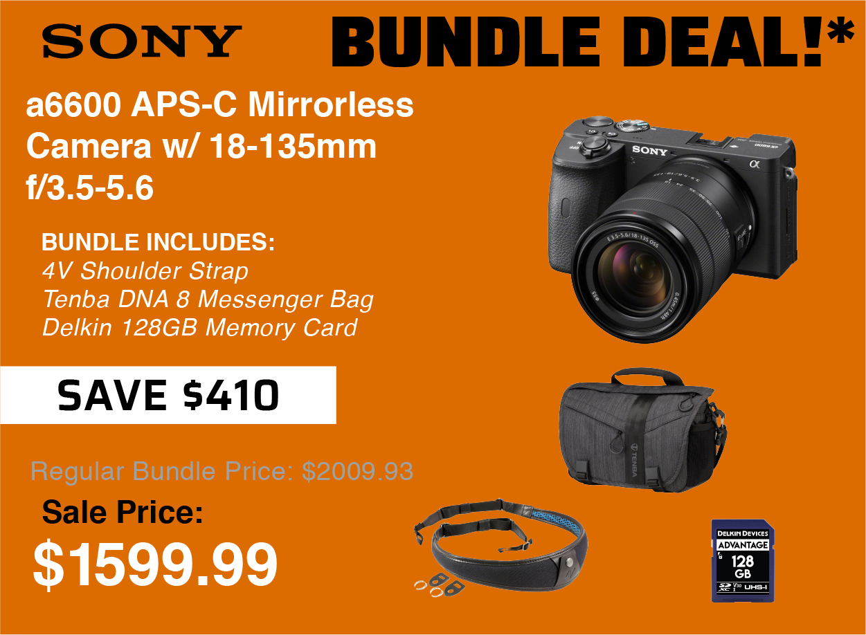 Sony a6600 Bundle