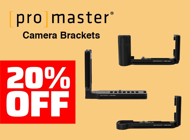 Promaster Camera Brackets