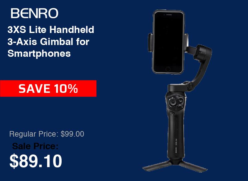 Benro 3XS Lite Handheld 3-Axis Gimbal