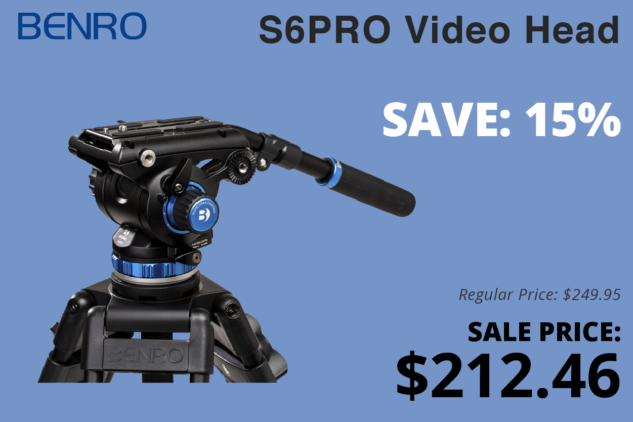 Benro S6Pro Video Head