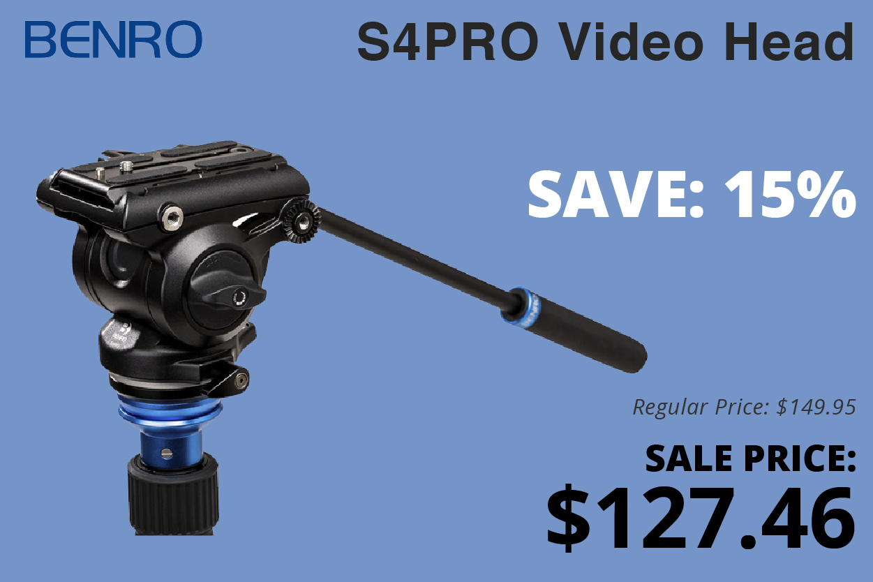 Benro S4Pro Video Head