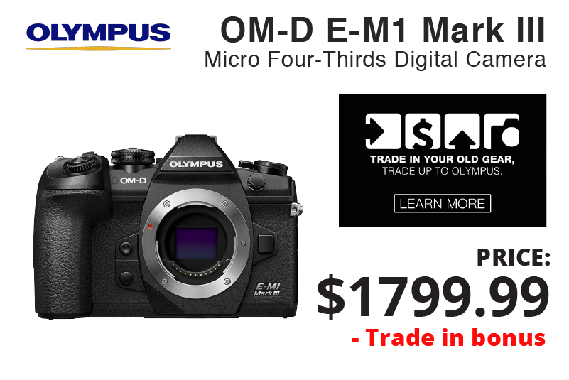 Olympus OM-D E-M1 Mark III + Trade IN Bonus