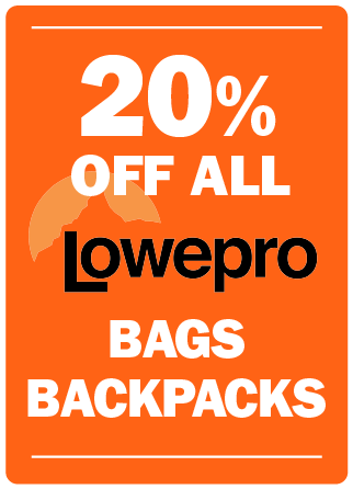 Lowepro Bags and Backpacks on Sale
