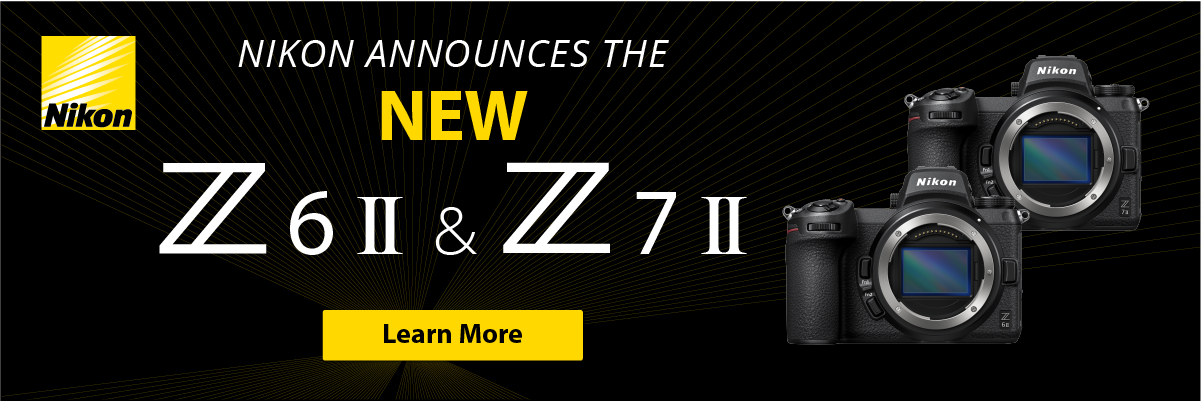 Nikon Announces New Cameras Z6 II Z7 II.