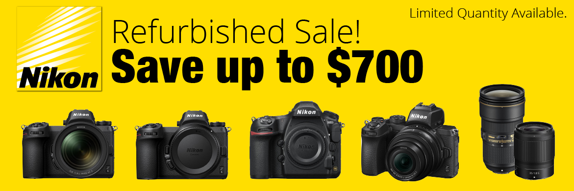 Nikon Refurb Sale