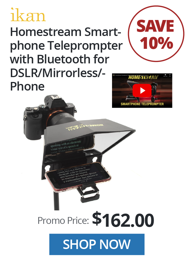 Ikan Homestream Teleprompter
