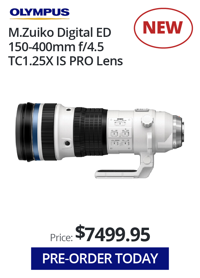 Pre-Order the New Olympus Lens