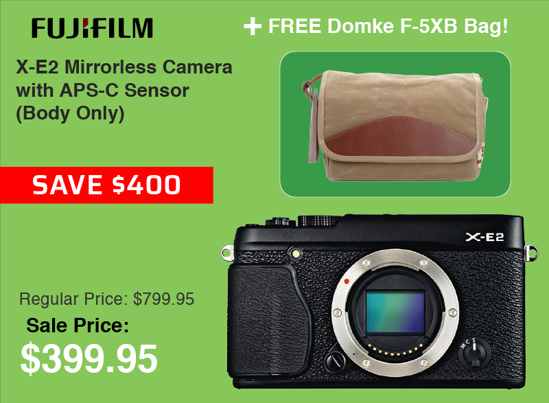 Fujifilm X-E2 with Free Bag