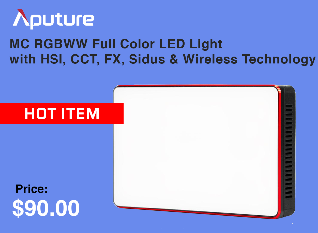 Aputure Full Color LED Light