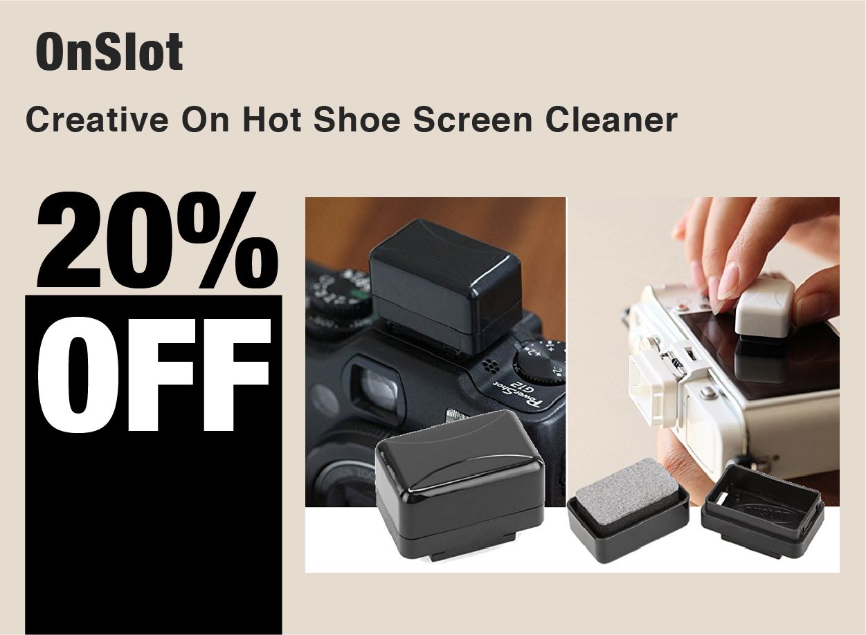 OnSlot Creative On Hot Shoe Screen Cleaner