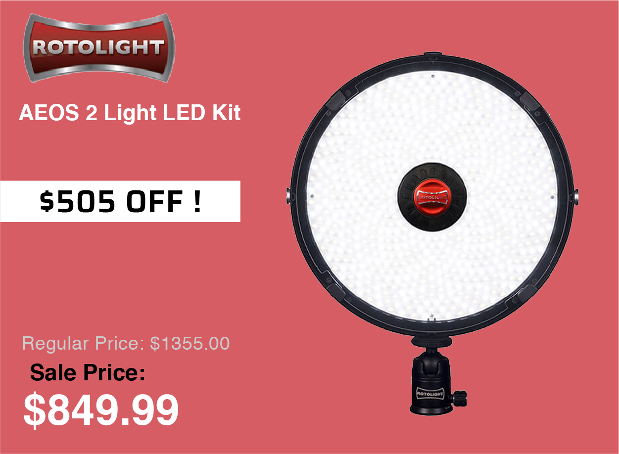 Rotolight AEOS 2 Light LED Kit