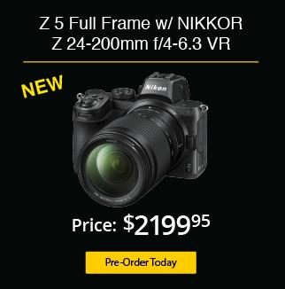 Nikon Z 5 Mirrorless Camera w/ 24-200mm