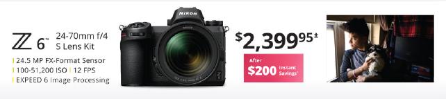 Nikon Z6 24-70mm Kit