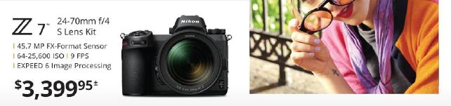 Nikon Z7 24-70mm Kit