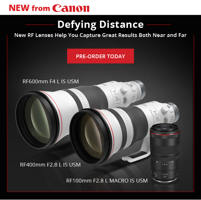 New from Canon