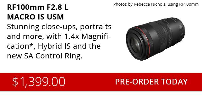 New Canon 100mm RF