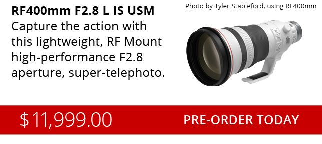 New Canon RF400mm