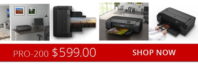 Canon Pro-200 Printers
