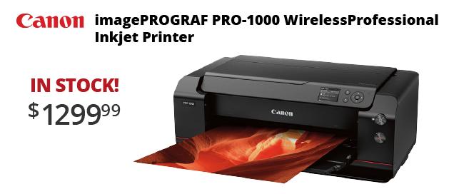Canon Pro-1000 Printers