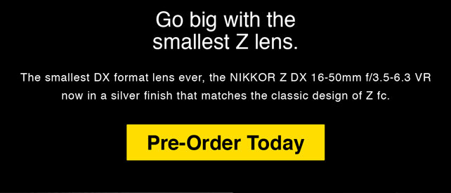 Go Big with the Smallest Z Lens