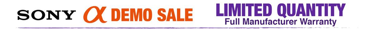 Sony Demo Sale