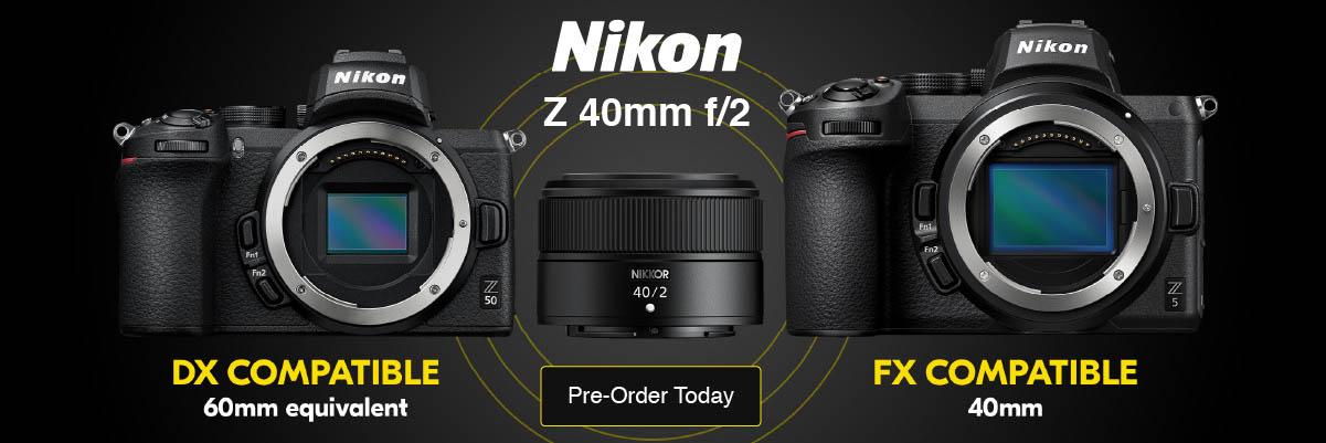 New Nikon 40mm F2