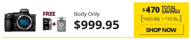 Nikon Z5 Savings