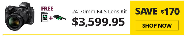 Nikon Z7II Savings