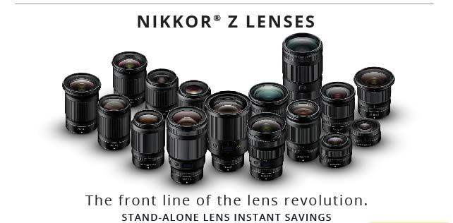 Nikon Z Lens Savings
