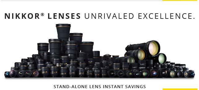 Nikkor Lens Savings