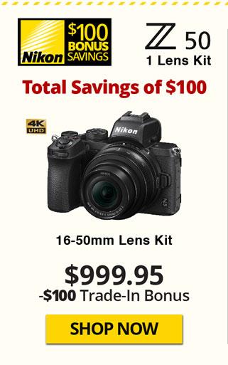 Z50 One Lens Kit