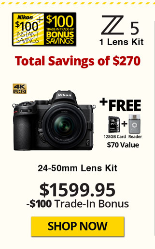 Nikon Z5 with 24-50mm